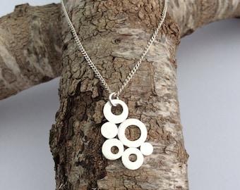 Silver Necklace, Bubbles