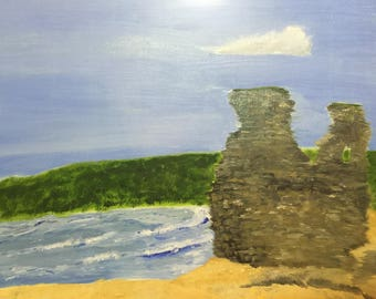 Black Castle Wicklow Painting