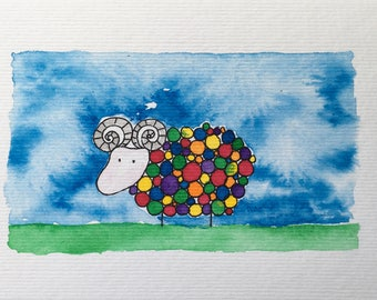 Bobble sheep ram