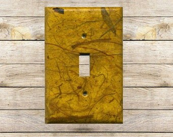 Autumn Abstraction Decorative Switchplate