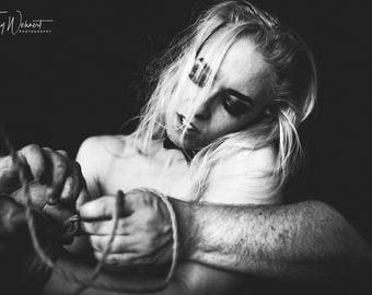 "PhotoPrint ""Silence"" - High Quality - Photoart - Artwork"