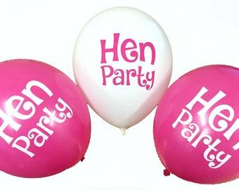 "Hen Party 12"" Balloons"