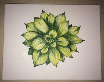 Go Green canvas