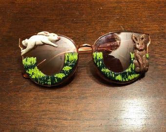 Bunnies Sunglasses Art