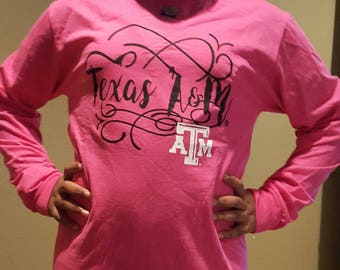 Texas A & M Long Sleeve
