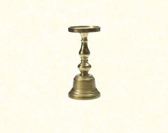 """Athena Candleholder 9.5"""" - Gold"""