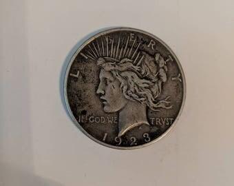 1923 Liberty Peace Dollar