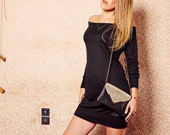 Black LillyLou long sleeve dress