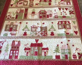 Christmas Advent Quilt