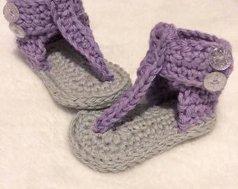 Trendy Crochet Sandals
