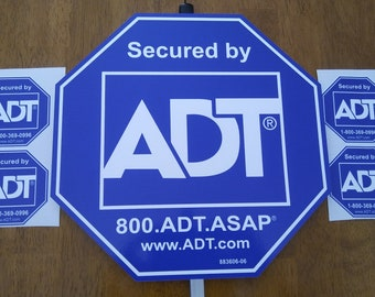 ADT Home or Business Security Yard sign