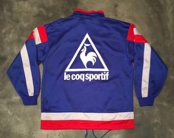 Vintage 90s Le Coq Sportif Training Jacket