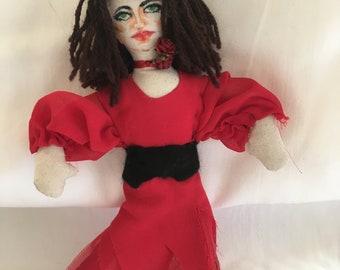 Kate Bush Doll by DivaDollies