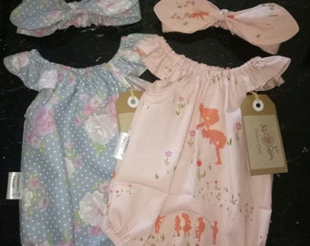 Newborn Seaside Playsuit Set