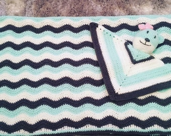 Baby blanket and Snuggie set
