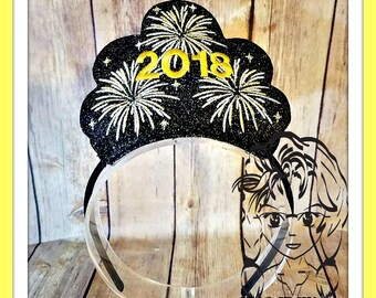 NeW YeAR 2018 CRoWN ~ In The Hoop Headband ~ Downloadable DiGiTaL Machine Embroidery Design by Carrie