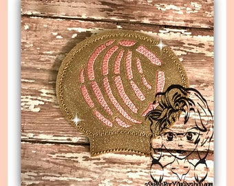 SWEET BREAD Mexican Ear (Add On ~ 1 Pc) Mr Ms Mouse Ears Headband ~ In the Hoop ~ Downloadable DiGiTaL Machine Embroidery Design by Carrie