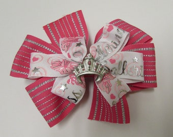 Stacked Princess Boutique Hair Bow