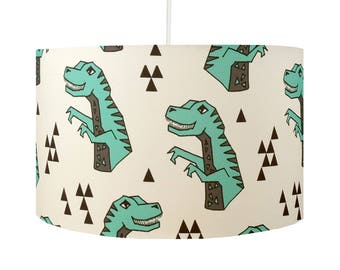 Dinosaur Drum Lamp Shade