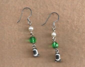 Tiny Bell Earrings
