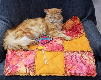Sofa Cover,Cat Blanket, Cat Bed, Handmade Cat Bed, Pet Bed, Travel Cat Bed, Dog Blanket, Cat Accessories, Furniture Cover Sofa Cover Cat Pad