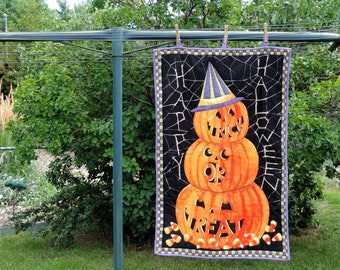 Halloween Pumpkin Wall Hanging