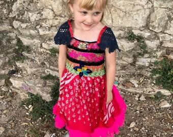 Rubypearl Girls' Gypsy Rose Dress