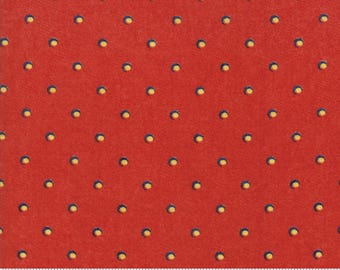 Biscuits and Gravy - Dime Store in Jelly Red: sku 30488-11 cotton quilting fabric by BasicGrey for Moda Fabrics