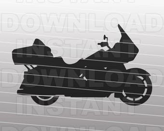 Harley Davidson SVG - Motorcycle SVG File - Vector Art -Commercial & Personal Use- svg file for Cricut,svg file for Silhouette,vinyl cutting