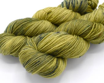 One of a Kind Hand Dyed Sock Yarn - In Stock