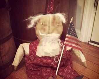 CustomerAppreciationSale Primitive Americana Uncle Sam
