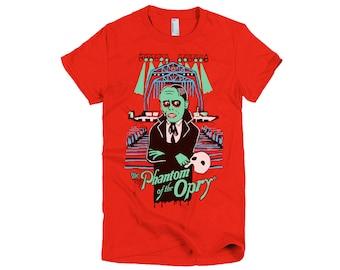 SALE - Girls Phantom of the Opry Tshirt - Olivia Frankenstein Original - Nashville
