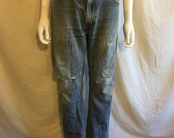 Closing Shop 40%off SALE Levi's 505 Regular Fit Straight Leg 90s Jeans Waist W 35