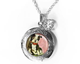 sixers312006   Custom listing for puggle locket with 2 selected images, gift boxed