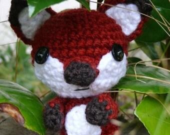 Summer Sale Woodland Series 1 - Little Fox   Crochet pattern PDF