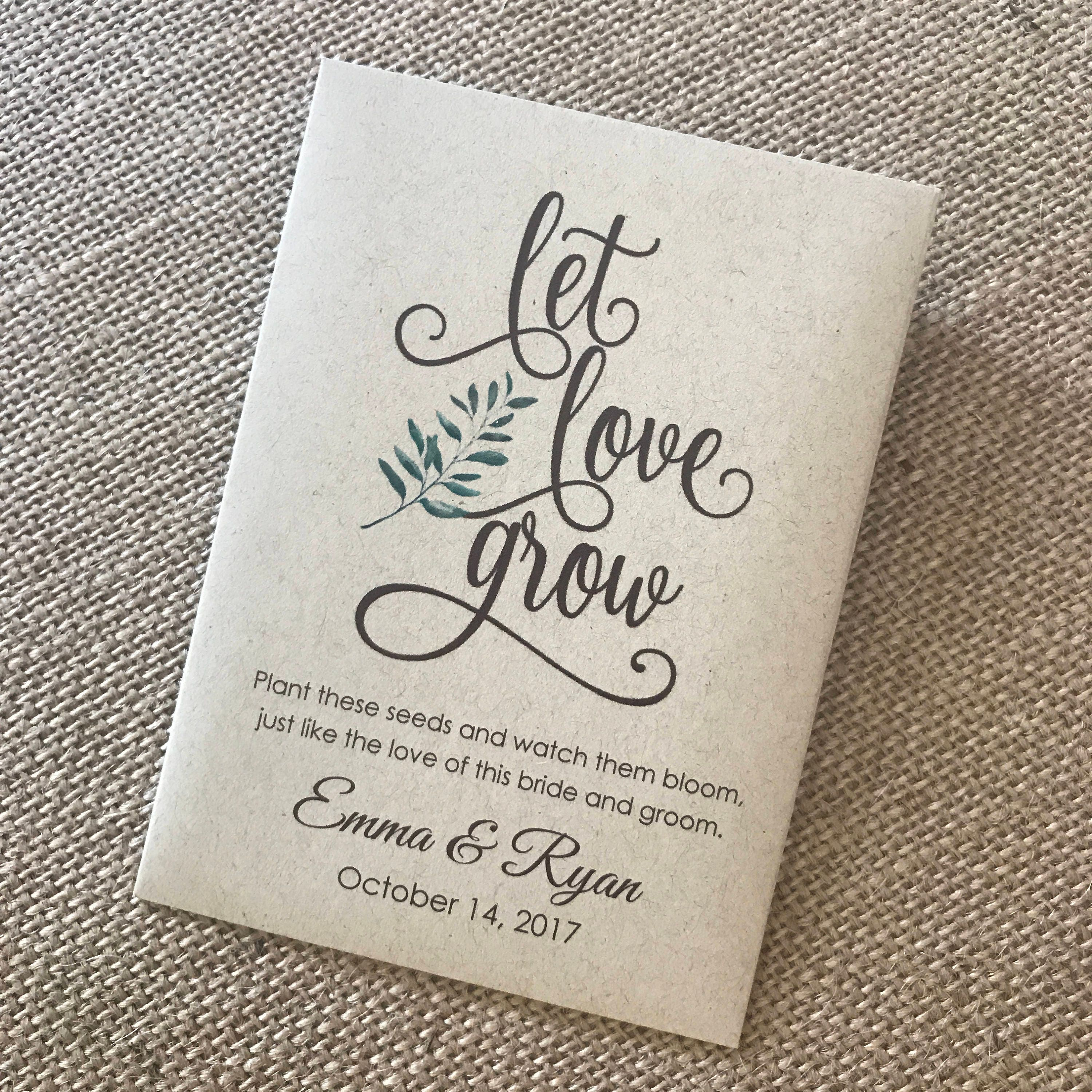 new size diy custom seed packets kraft personalized envelopes