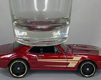 The ORIGINAL Hot Shot, Shot Glass, '67 Pontiac Firebird 400, Hot Wheels