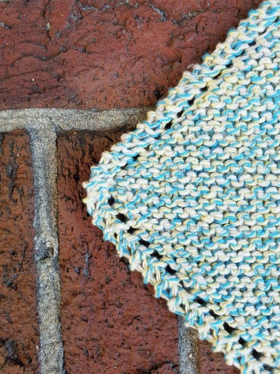 Salt Water Taffy Marl Cotton Dishcloth
