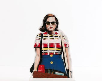 Peggy Olson Wooden Standee