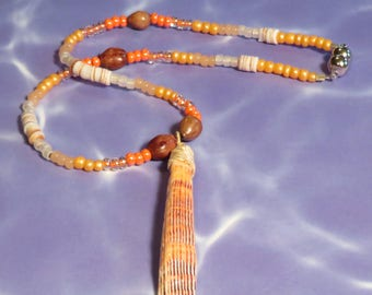 Lion's Paw Shell Necklace #4