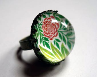 Ring, Peony pink BA193B