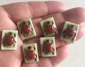 Porcelain Mosaic Tile Ceramic Ladybug Your Choice