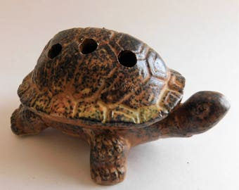 Vintage Turtle Incense Burner
