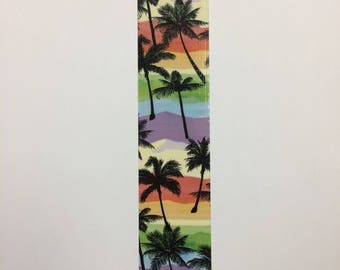 Bookmarks - duck duct tape - Palm tree
