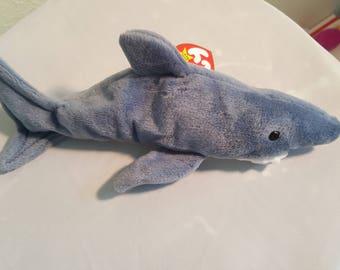TY Beanie - Crunch the Shark