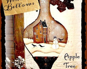 Apple Tree Cottage Original Design E Pattern - Winter Bellows