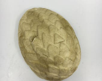 Hatching Gold Dragon Egg Bath Bomb WITH Dragon Toy Inside!
