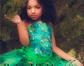 Emerald Dress Woodland Fa...