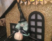 Halloween ornament witch ornament witch doll vintage retro inspired