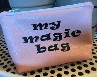 My Magic Bag Faux Leather Bag
